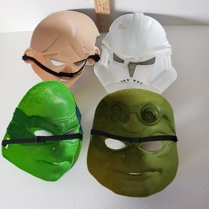 Costumes - 6 Kids Costume Face Masks Toys Face Masks